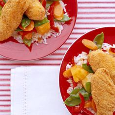 Delicious and healthy sweet and sour chicken everyone will love!