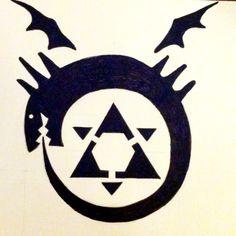 Homunculi's tattoo