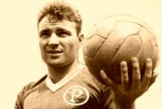 José João Altafini, o Mazzola, no Palmeiras em 1958.
