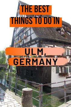 The Best Things to do in Ulm, Germany: Ulm Germany Attractions Ulm is a city in the south German state of Baden-Württemberg, founded in medieval times. In the center of Ulm stands the Münster, Germany's largest Gothic church after Cologne Cathedral.