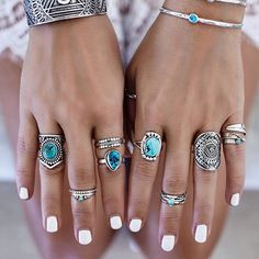 Adorned in my favorite of natures precious stones  beautiful turquoise + silver treasures from the amazing @indieandharper  @bobbybense #turquoiselove