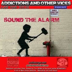 Addictions 90 #today #nowplaying #indie #indierock #alternative #synthpop #radio 12:00PM-1:10PM EST bombshellradio.com  http://ift.tt/2agdaCl  Addictions Podcast 90  parker BOMBSHELL  sound the alarm Addictions  Podcast EP 90  Sound The Alarm  Tonights episode was inspired by UK artist Banksys hammer boy stencil piece from the better out than in New York City outdoor exhibition and the fire alarms testing while my cats run for cover under the bed under the sofa  and on top of the cupboards…