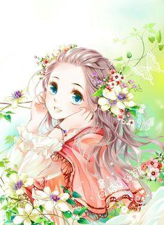 anime and kawaii image Pretty Anime Girl, Beautiful Anime Girl, Kawaii Anime Girl, Anime Art Girl, Anime Girls, Beautiful Beautiful, Anime Chibi, Manga Anime, Manga Girl