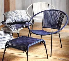 Roost Robson Chair & Ottoman