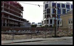 Yorkville Condominiums Sales Centre Under Construction, image By JasoninToronto)