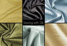 Sewing with Silk