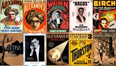 200 Magical 'Print Ready' Vintage Magician's Posters by Artisaan