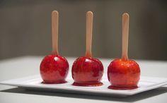 Sirva em festas infantis as queridinhas maçãs do amor