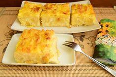 Reteta culinara Placinta creata cu branza sarata din categoria Aperitive / Garnituri. Cum sa faci Placinta creata cu branza sarata