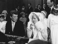 le mariage de Johnny Hallyday et Sylvie Vartan