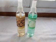 2 New Avon Naturals Refreshing Body Spray 8.4 Fl Oz Almond & Milk Cucumber Melon #Avon