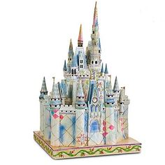 Your WDW Store - Disney Jim Shore Figure - Cinderella Castle of Dreams
