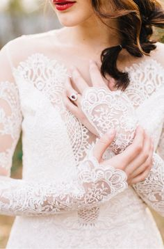 Claire Pettibone for Trumpet & Horn // featured on Ruffled Blog