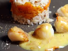 Normandie - Saint Jacques au Beurre de Cidre  / scallops with cidre butter