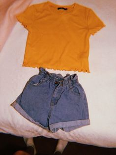 Cute Summer Outfits, Shorts Outfits For Teens, Trendy Outfits, Back To School Outfits, New Outfits, Fall Outfits, Cute Outfits, Fashion Outfits, Womens Fashion