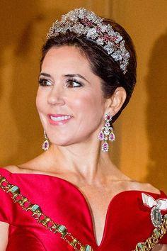 Prince Frederick, Princess Marie Of Denmark, Danish Royalty, Danish Royal Family, Crown Princess Mary, Royal Jewels, Duchess Of Cambridge, Feminine, Celebs