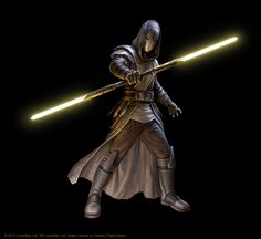 Jedi Temple Guard by R-Valle.deviantart.com on @DeviantArt