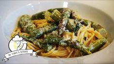 Spaghetti mit Spargel - Rezept von Vanys Küche Thermomix Spaghetti, Ethnic Recipes, Youtube, Food, Al Dente, Food Food, Meal, Eten, Meals