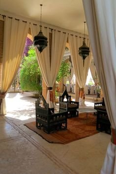 Beldi Country Club is located just outside Marrakech