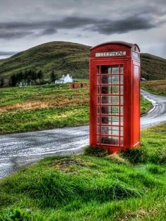 England - just like our old phone booth on Lake Shore in GP Shores!