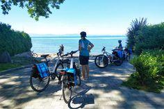 Fietsvakantie rondom de Bodensee - ECKTIV Rondom, Zeppelin, Bicycle, Motorcycle, Bregenz, Konstanz, Bike, Bicycle Kick, Bicycles