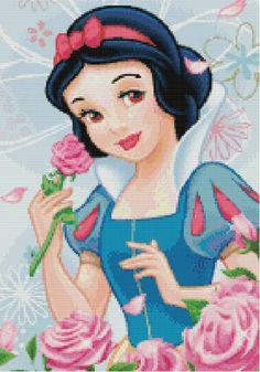 4 Set Disney's Princesses Cross Stitch by KeenahsCrossStitch