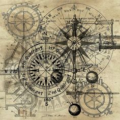 Autowheel IIi Art Print by James Christopher Hill Steampunk Print featuring the painting Autowheel IIi by James Christopher Hill Vintage Maps, Antique Maps, Steampunk Kunst, Steampunk Drawing, Moby Dick, Vintage Wallpaper, Etiquette Vintage, Old Maps, Canvas Prints