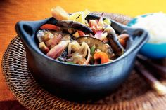 Aubergine-tofucurry - Recept - Allerhande