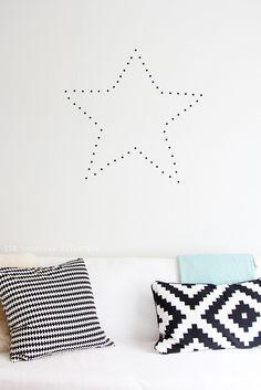 DIY: decorative star by IDA Interior LifeStyle, via Flickr