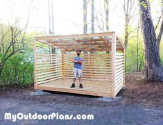 Cool Plans For Wood Storage Shed Ideas Plans For Wood Storage Shed - This Cool Plans For Wood Storage Shed Ideas ideas was upload on September, 21 2019 by Jamarcus Weimann. Here latest Plan. 8x12 Shed Plans, Wood Shed Plans, Free Shed Plans, Cabin Plans, Wood Storage Sheds, Storage Shed Plans, Build A Playhouse, Wooden Playhouse, Indoor Playhouse