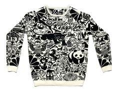 Animal Sweater. I want this!
