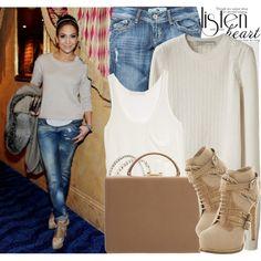 """""""737. Celebrity Style: Jennifer Lopez's"""" by nastyaafanasova on Polyvore"""