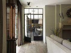 Tussendeur keuken - woonkamer
