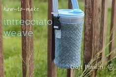 How to weave fabric, denim/cotton fabric into a Intrecciato Weave, a texture made popular onBottega Venetaluxury handbags & purses. – Page 2 of 2