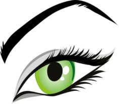 Eye transparent PNG image