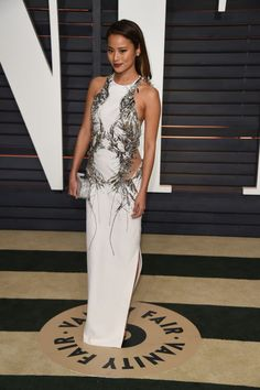 Jamie Chung. See what all the stars wore to the Academy Awards' biggest after party.