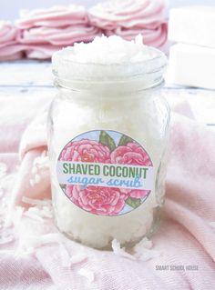 Shaved Coconut Sugar Scrub