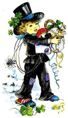 Chimney Sweep - Happy New Year! Steampunk Hat, Steampunk Wedding, Vintage Artwork, Vintage Images, Potty Training Humor, New Year Gif, Chimney Sweep, Modern Victorian, Lace Decor
