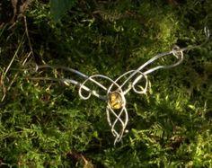 Sterling Silber Elfen reif / Tiara Wildwood von ArcturusJewellery