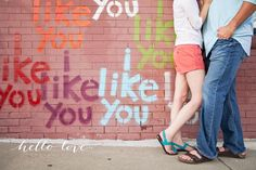 hello love photography | engagement photography | i like you