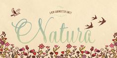 The Natura Font Giveaway   The Fozzy Book