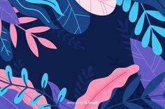 Wallpaper Notebook, Wallpaper Pc, Computer Wallpaper, Plant Illustration, Graphic Design Illustration, Digital Illustration, Estilo Floral, Posca Art, Aesthetic Desktop Wallpaper