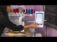 In this video clip, Nicci Brazzell will give you a brief overview of how to use color swap and even the magic wand to change the color on the Baby Lock Enterprise and Endurance embroidery machines! To see the entire class that this excerpt is from, head on over to http://sewathomeclasses.com/enterprise-jumbo-flag