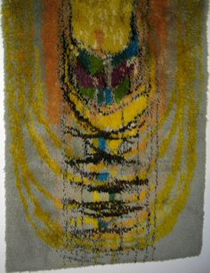 Ryijypalvelu RP Oy Malli Helka / Helga, design Satu Peura Rya Rug, Rugs On Carpet, Carpets, Woven Rug, Floor Rugs, Textile Art, Wall Rugs, Upholstery, Weaving