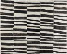 "Ellsworth Kelly – Study for ""Cité"": Brushstrokes Cut into Twenty Squares and Arranged by Chance, 1951"