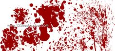 Blood 40 - Download  Photoshop brush https://www.123freebrushes.com/blood-40/ , Published in #BloodSplatter, #GrungeSplatter. More Free Grunge & Splatter Brushes, http://www.123freebrushes.com/free-brushes/grunge-splatter/ | #123freebrushes