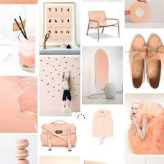 soft peach http://addictedtocolors.tumblr.com/