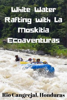 White water rafting on Rio Cangrejal with La Moskitia Ecoaventuras was one of our highlights while traveling through Central America. Make sure you don't miss this opportunity when in La Ceiba, Honduras! La Moskitia Ecoaventuras is the original white water rafting company in La Ceiba, and has over 40 years of experience. A tour includes return transportation, equipment, bilingual guides, and a light meal at the end. Plus, how many places in the world can you go rafting for $45 per person?