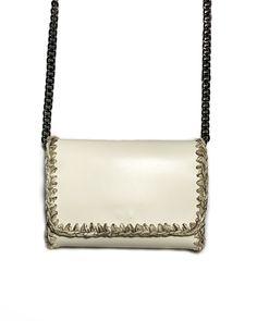 """""""Eloise mini"""" vanilla Timeless Design, Mini Bag, Leather Bag, Vanilla, Shoulder Bag, Crochet, Handmade, Bags, Modeling"""