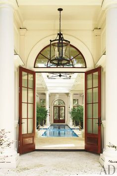 Traditional Entrance Hall and Historical Concepts in South Carolina